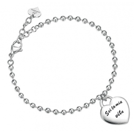 bracciale donna gioielli Luca Barra trendy cod. LBBK1472