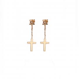Ladies' Earrings AMEN ORCRZ 925 Silver Gold