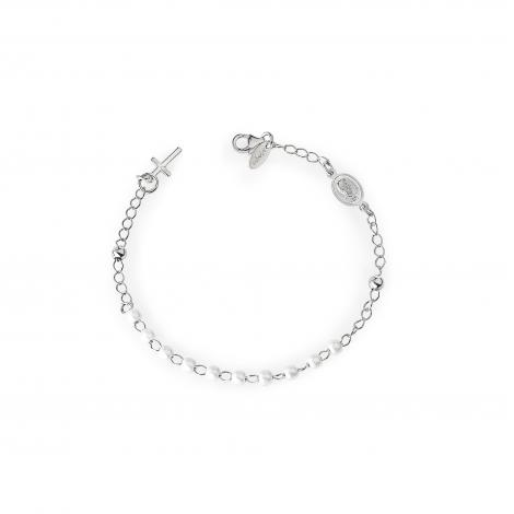 bracciale donna AMEN BROBB4 argento 925 e perle