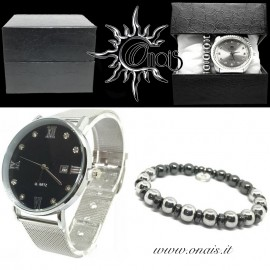 OUTFIT14 Orologio QUARTZ + Bracciale EREMITI COLLECTION