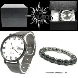 OUTFIT13 Orologio QUARTZ + Bracciale EREMITI COLLECTION