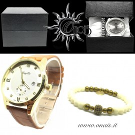 OUTFIT12 Orologio YONG LIN + Bracciale IRIS COLLECTION