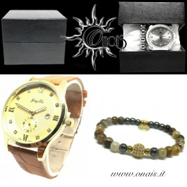 OUTFIT11 Orologio YONG LIN + Bracciale IRIS COLLECTION