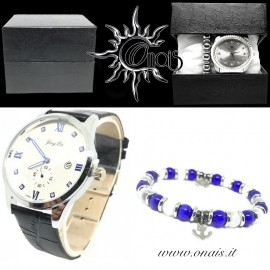OUTFIT10 Orologio YONG LIN + Bracciale DOUBLE STONE COLLECTION
