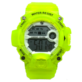 SPORT WATCH GIALLO FLUO