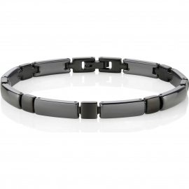 SECTOR SAFR04 Men's Bracelet Black Ceramic Anallergic Steel
