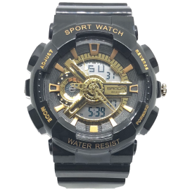 Orologio SPORT WATCH BLACK GOLD