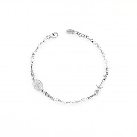 bracciale donna AMEN BROBS3 argento 925 e perle