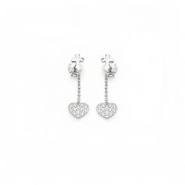 Orecchini Donna AMEN ORCHZB argento 925 e cristalli