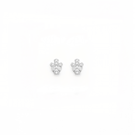 Women's AMEN ORCZB1 925 Silver Earrings and Crystals