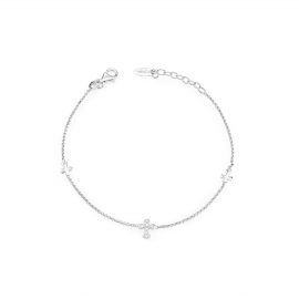 Bracelet Women AMEN BR3CZB 925 silver and zirconia