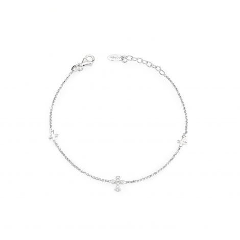bracciale donna AMEN BR3CZB argento 925 e zirconi