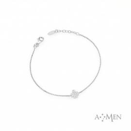 Bracelet Woman AMEN BRABZ3 silver 925