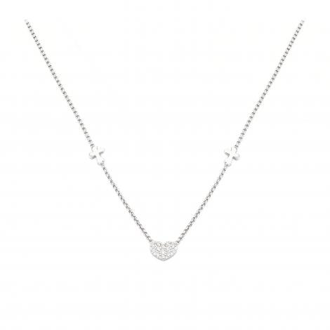 collana donna AMEN CLCHZB3 argento 925 e cristallli