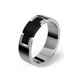 BROSWAY BES12D Men's Ring Stainless Steel